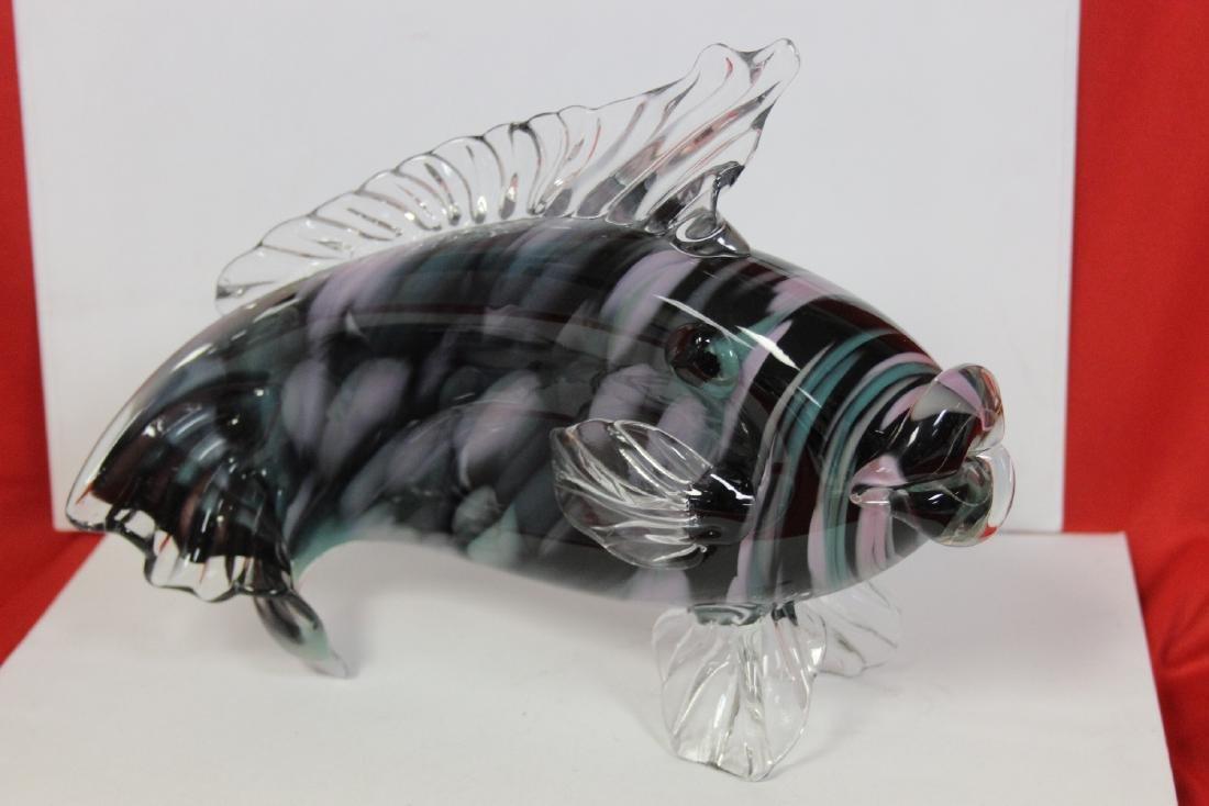 An Art Glass Fish