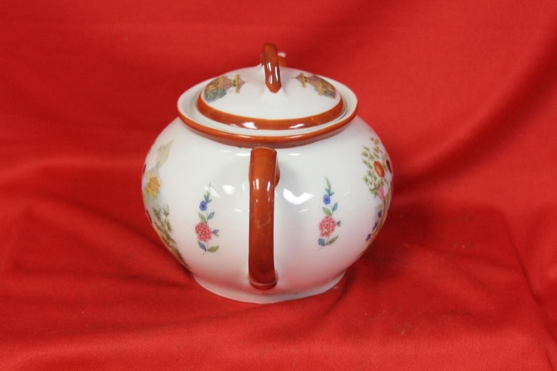 A Set of Signed Vintage Japanese Teaset - 4