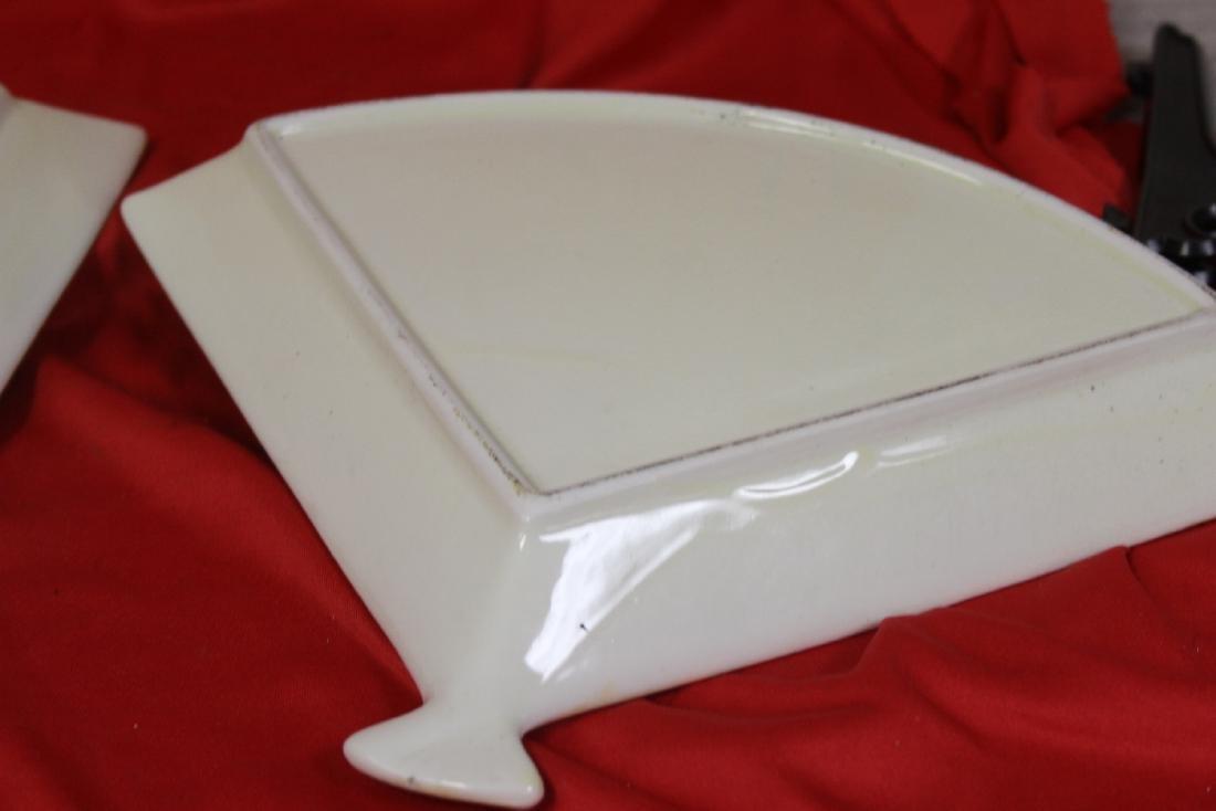 Set of Two Satsuma Style Fan Trays - 4