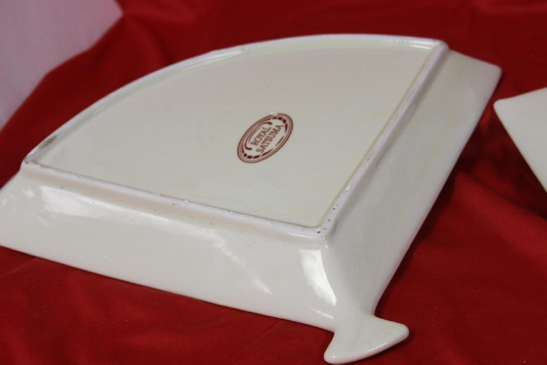 Set of Two Satsuma Style Fan Trays - 6