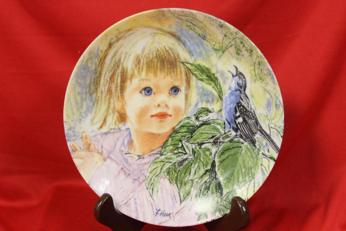 A Collector's Plate by Frances Hook