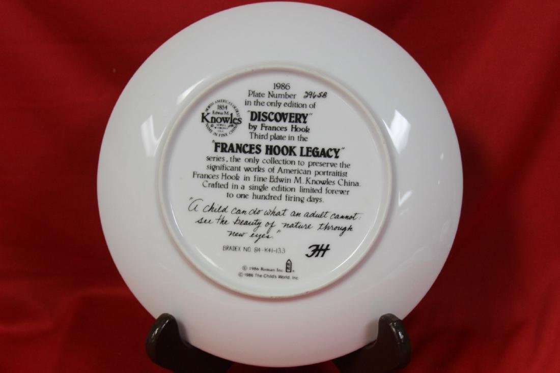 A Collector's Plate by Frances Hook - 3