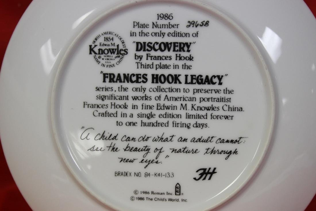 A Collector's Plate by Frances Hook - 4