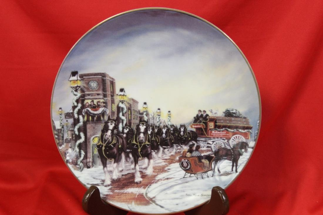 A Collector's Plate by Sampson