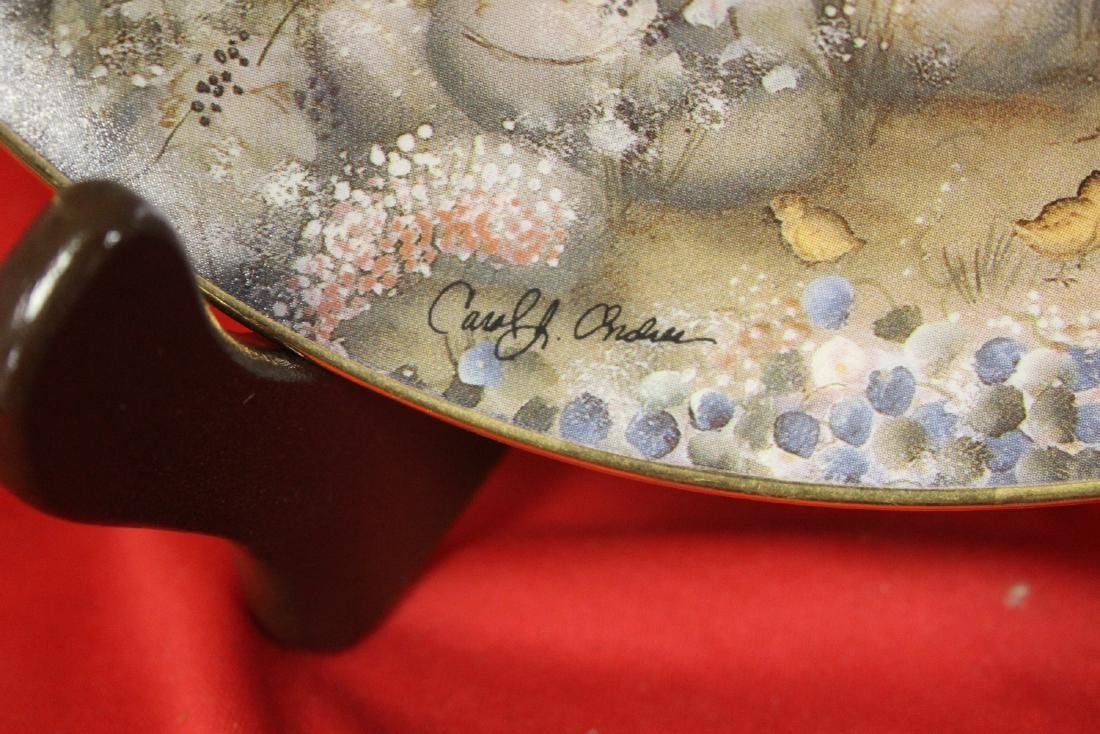 a Signed Collector's Plate - 2