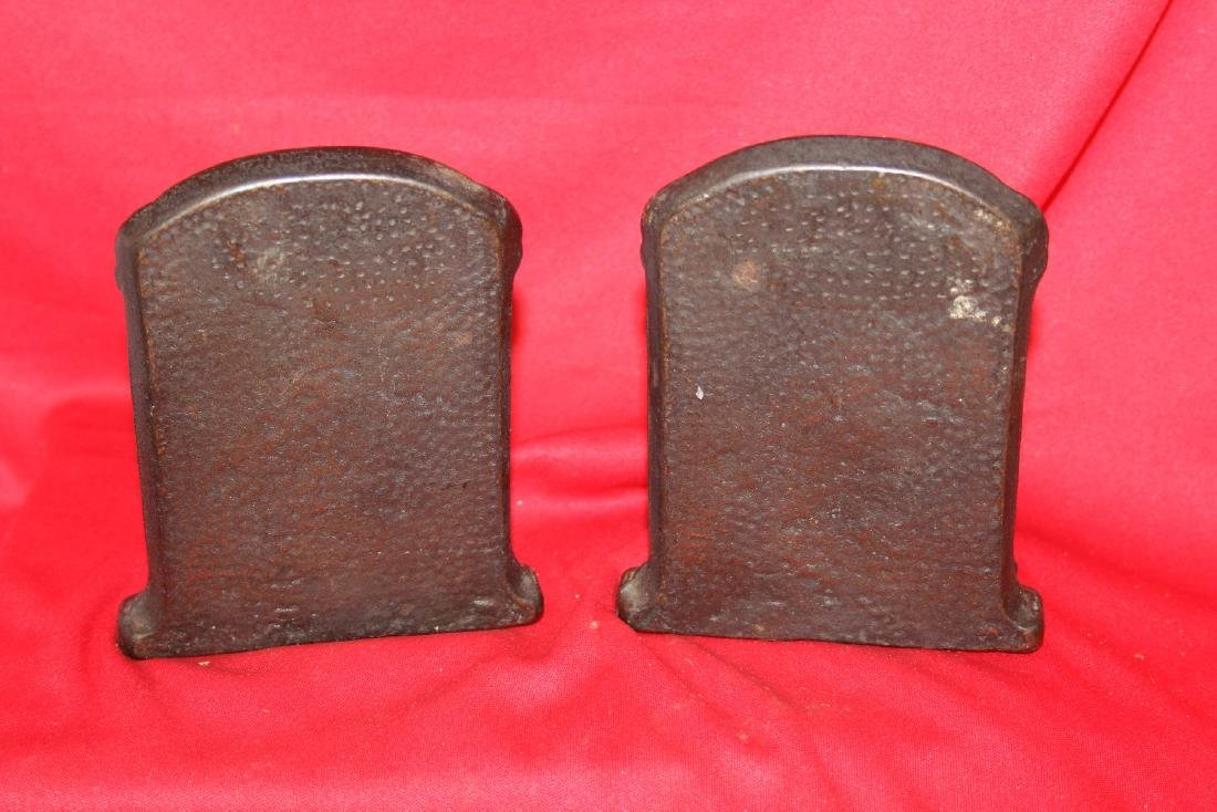 A Pair of Cast Iron Bookends - 3