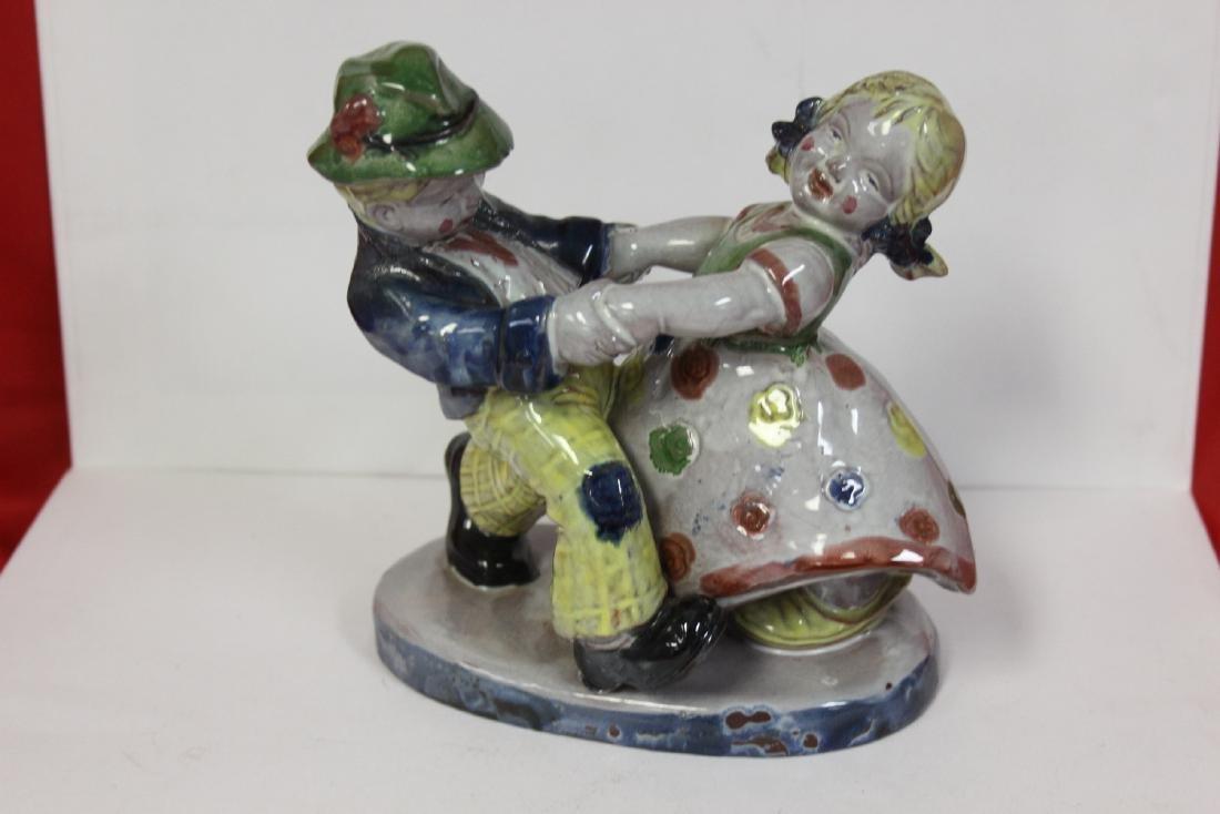 A Ceramic Figurine