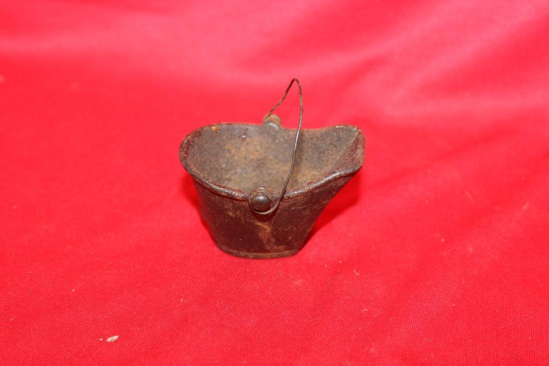 A Miniature Cast Iron Water Bucket - 3