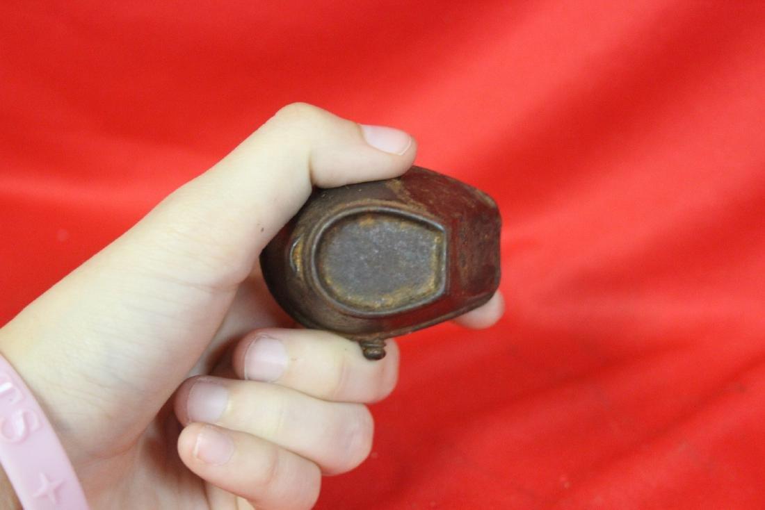 A Miniature Cast Iron Water Bucket - 4
