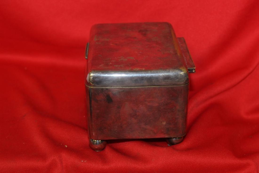 A Vintage Metal Box