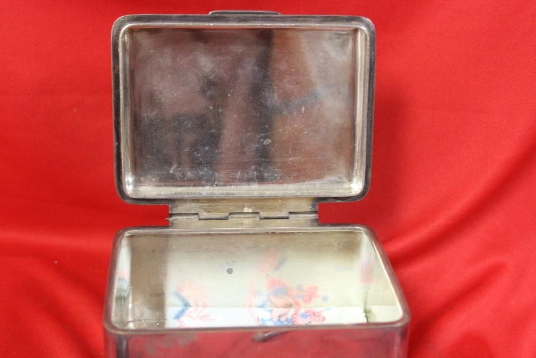 A Vintage Metal Box - 4