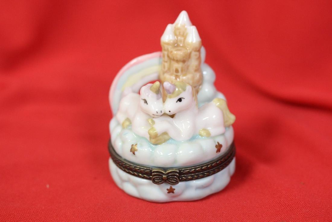 A Unicorn Trinket Box