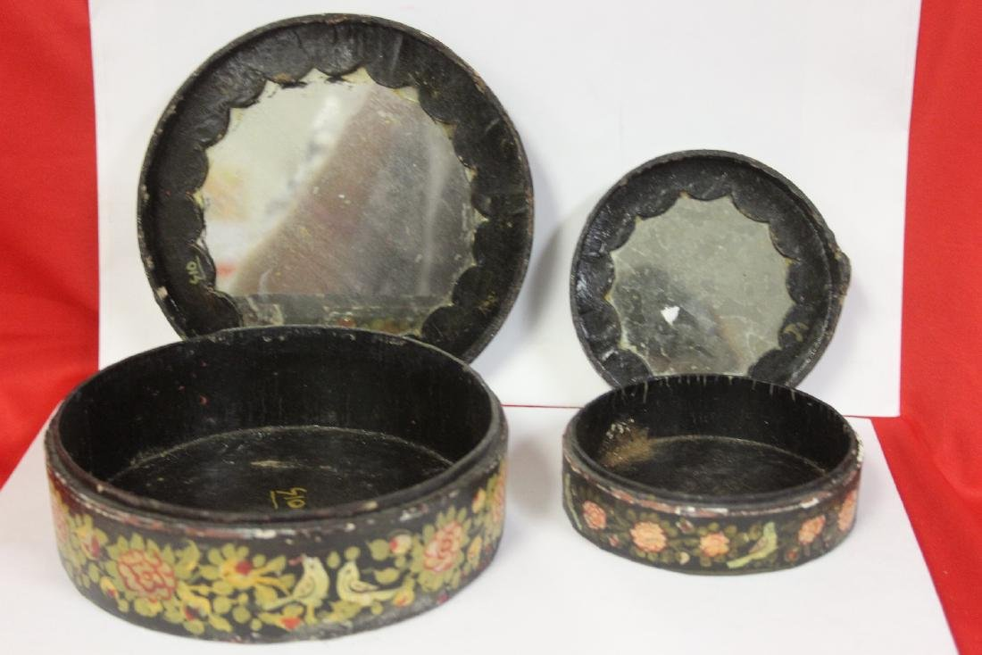 A Set of Two Oriental Lacquer Box - 2