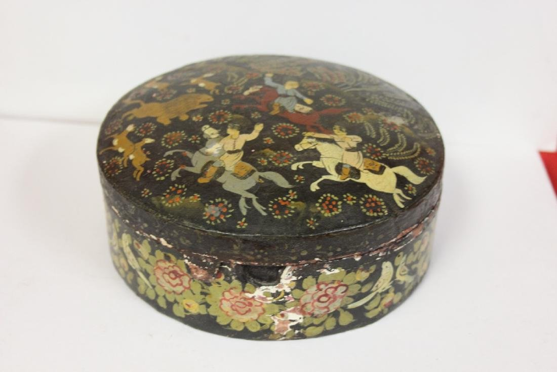 A Set of Two Oriental Lacquer Box - 3