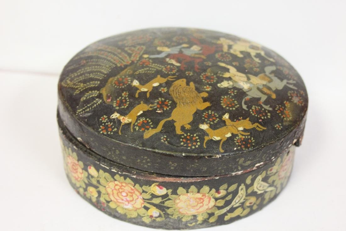 A Set of Two Oriental Lacquer Box - 4