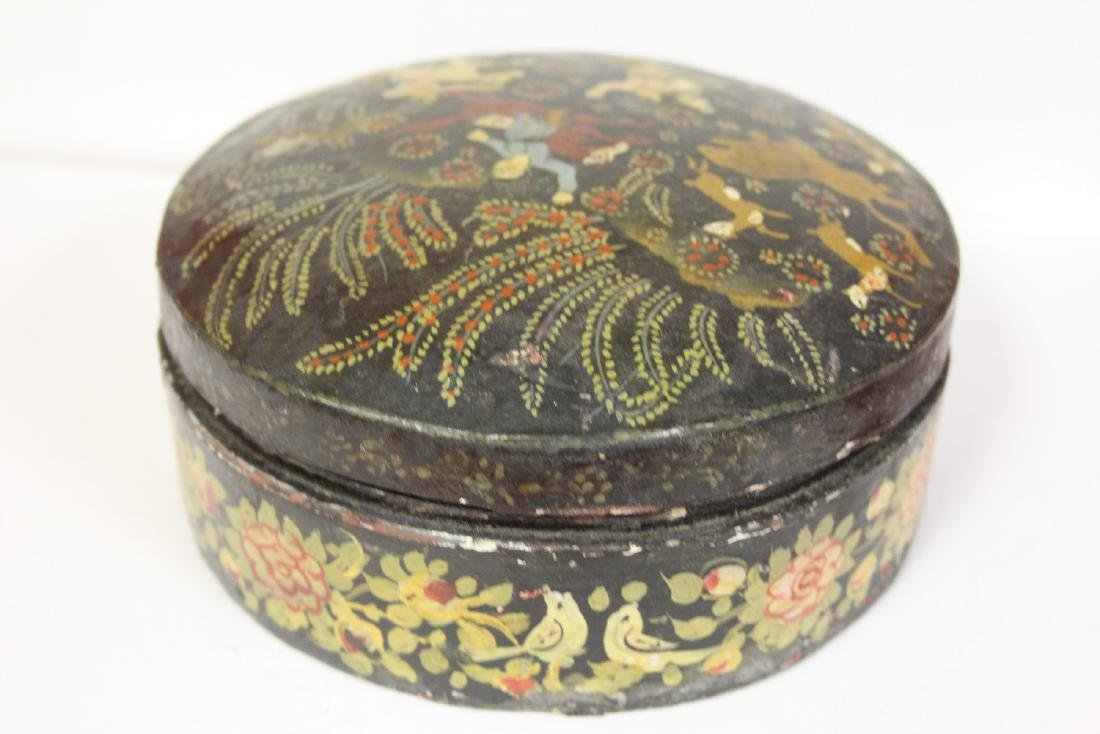 A Set of Two Oriental Lacquer Box - 5