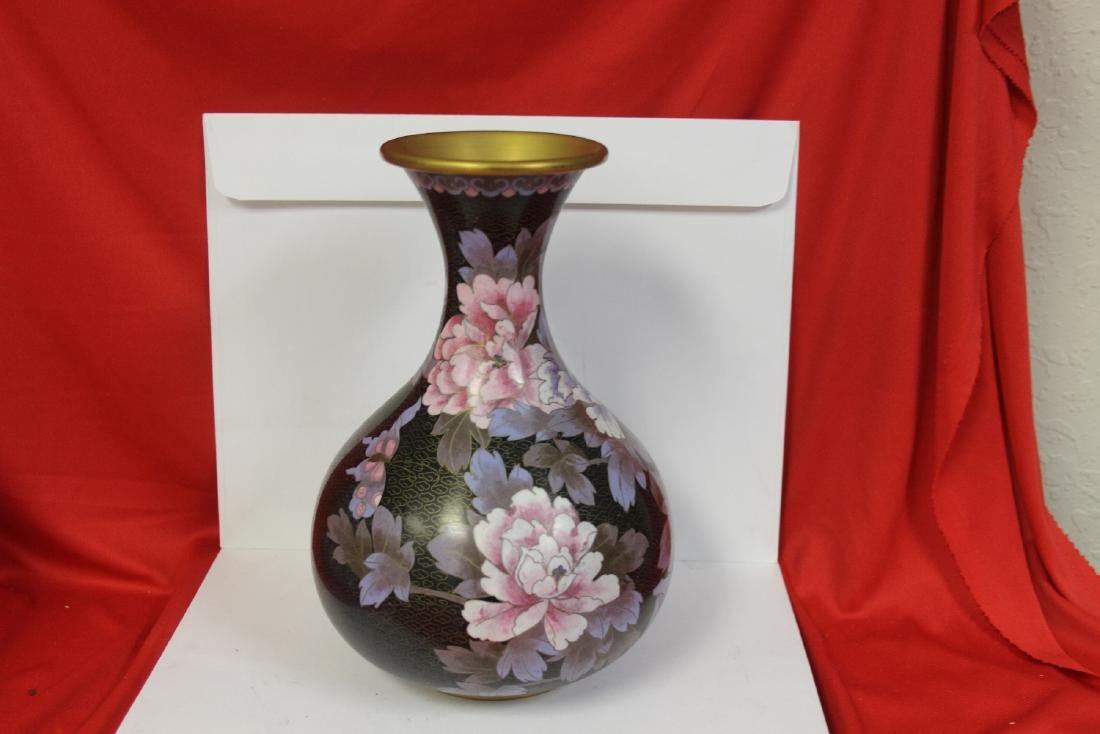 A Chinese Cloisonne Gourd Vase - 2