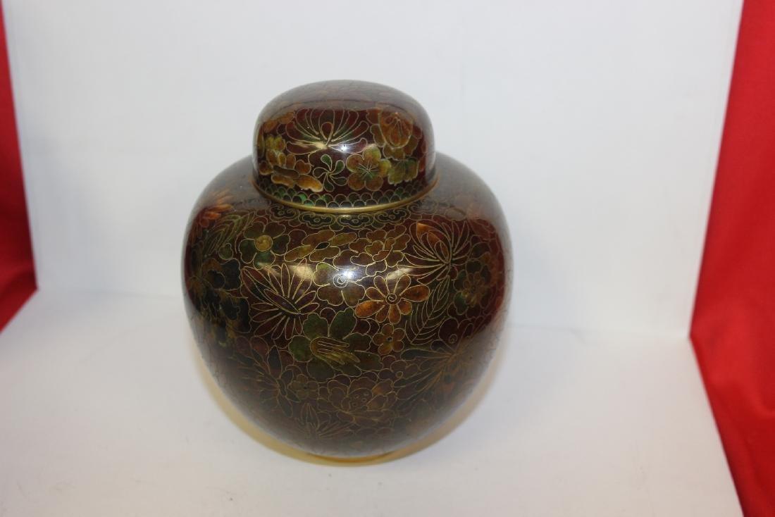 A Cloisonne Ginger Jar - 3
