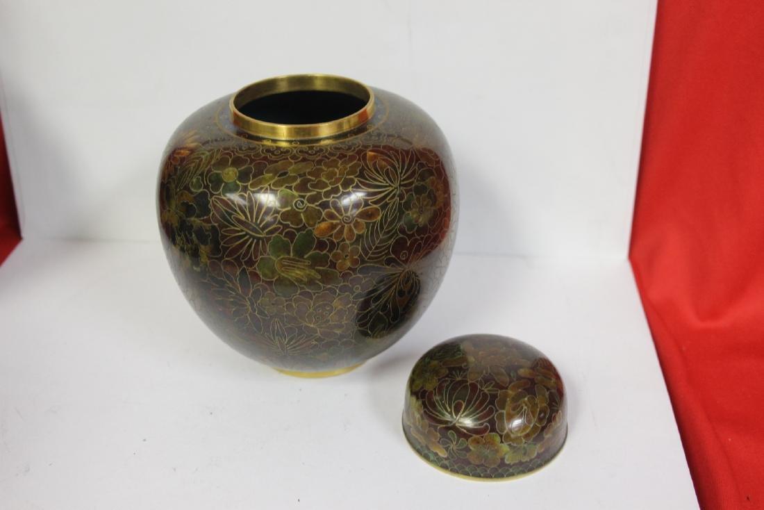 A Cloisonne Ginger Jar - 4
