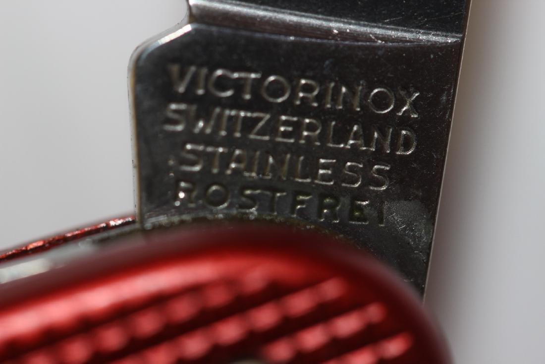 A Swiss  Multifunctional Pocket Knife - 4