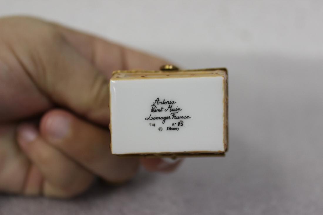 A Limoge, France Scrooge McDuck Trinket Box - 6