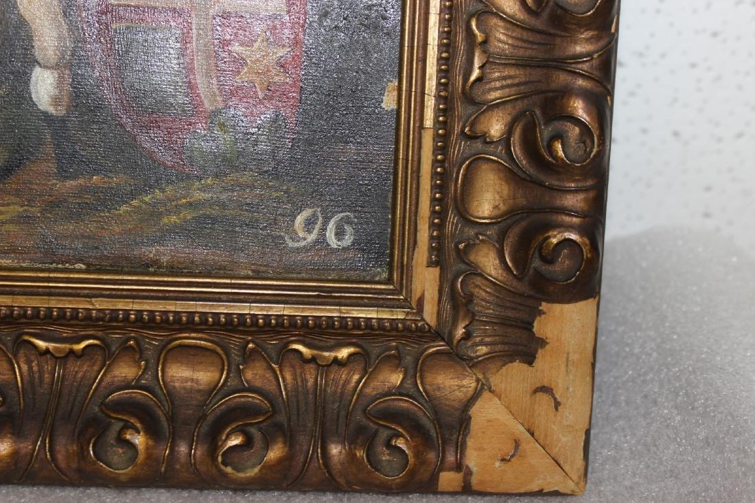 A 19th Century Oil on Canvas - 6