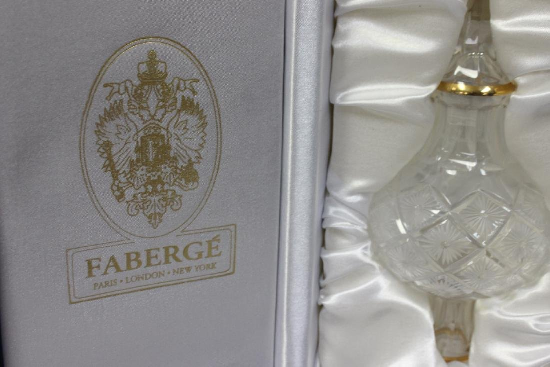 A Faberge Glass Coronation Tree Topper - 4