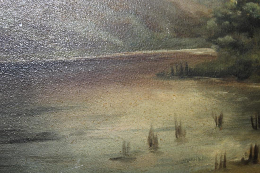 An Oil on Board Painting - 7