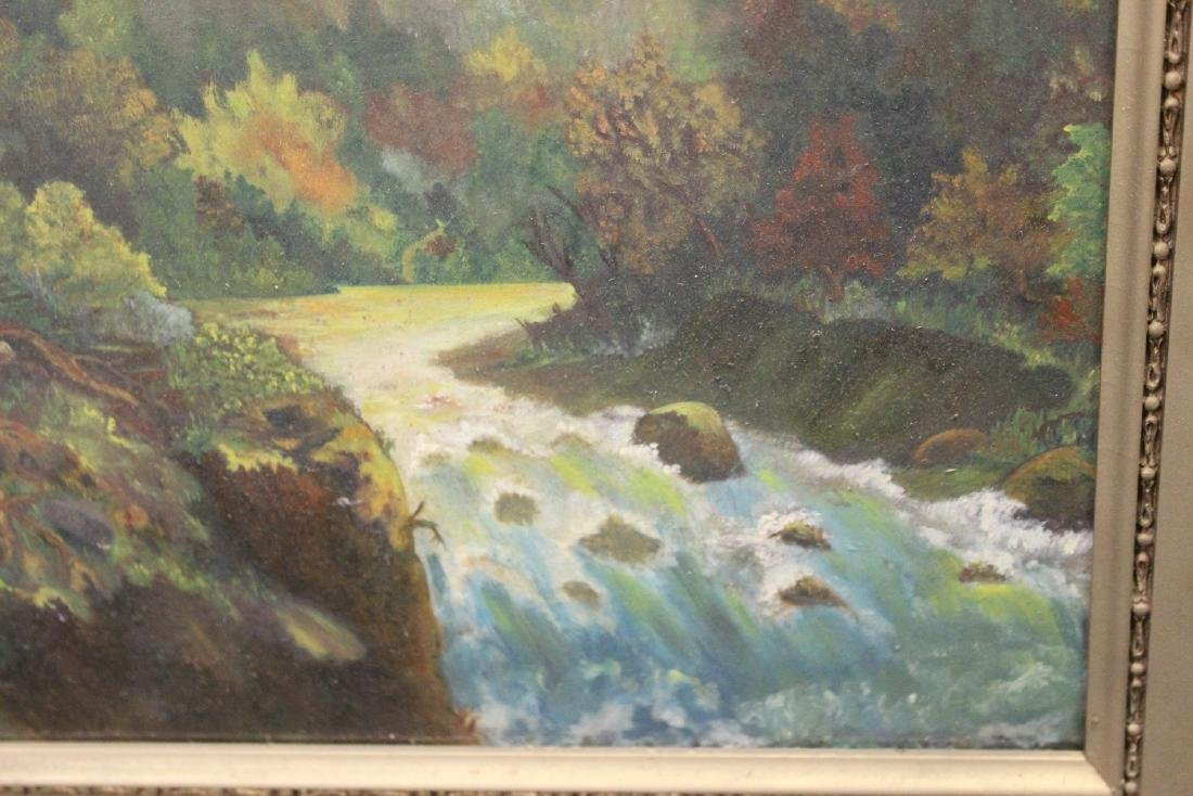 An Antique Oil on Board Painting - 6