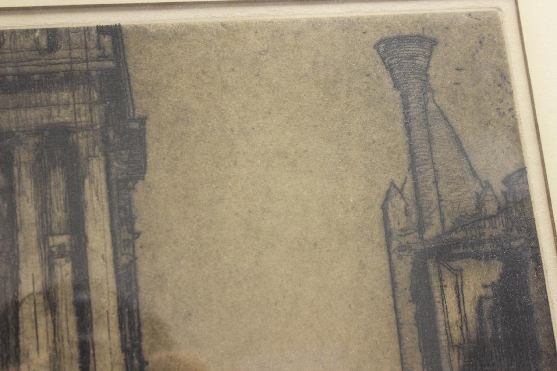 An Antique Signed Etching - 10