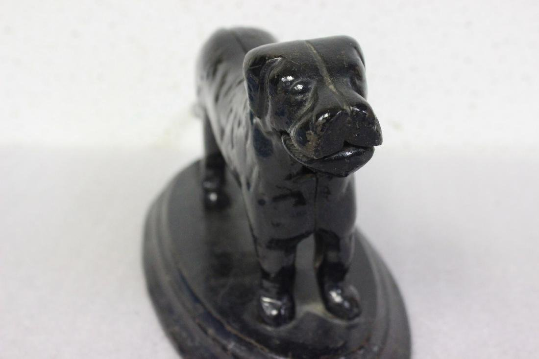A Vintage Cast Iron Dog Nut Cracker - 2