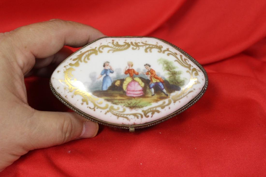 An Antique Meissen Trinket Box - 2