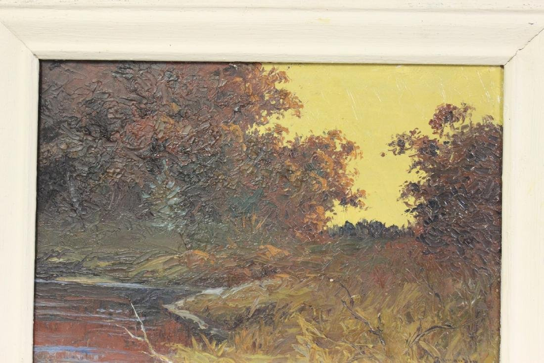 An Oil on Board by Listed Artist Gilman Low - 3