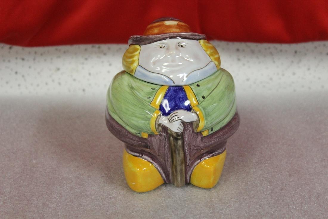 A Quimper Henriot Jar