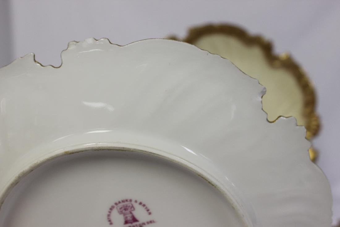 Lot of 3 Limoge Plates - 2