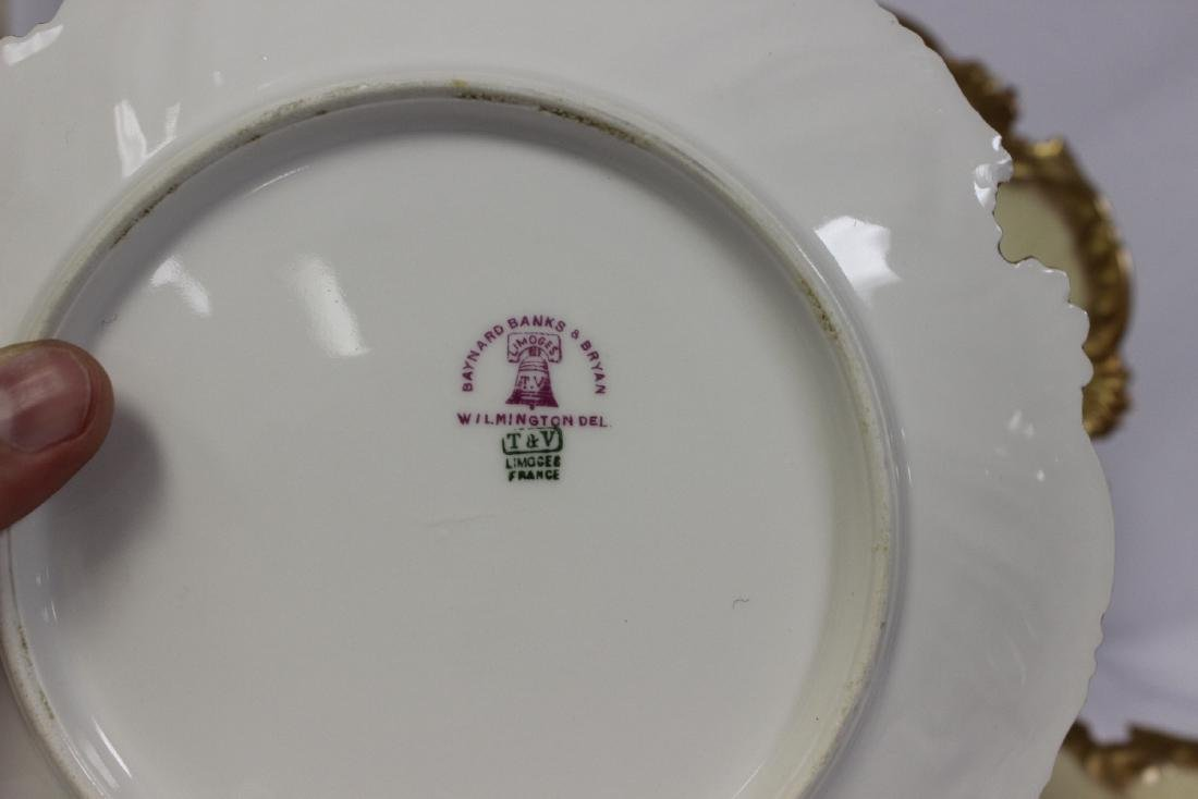 Lot of 3 Limoge Plates - 4