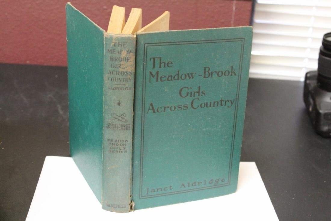 A Janet Aldridge Book - The Meadow-Brook Girls Across