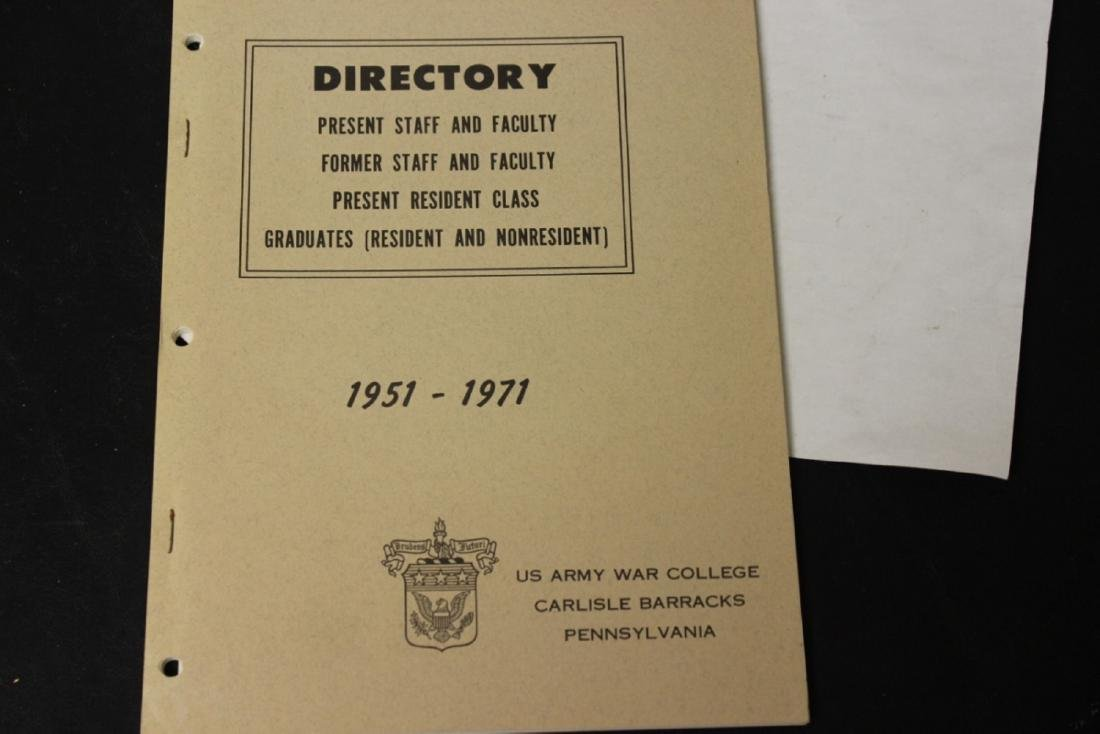 US Army War College Directory Pamphlet