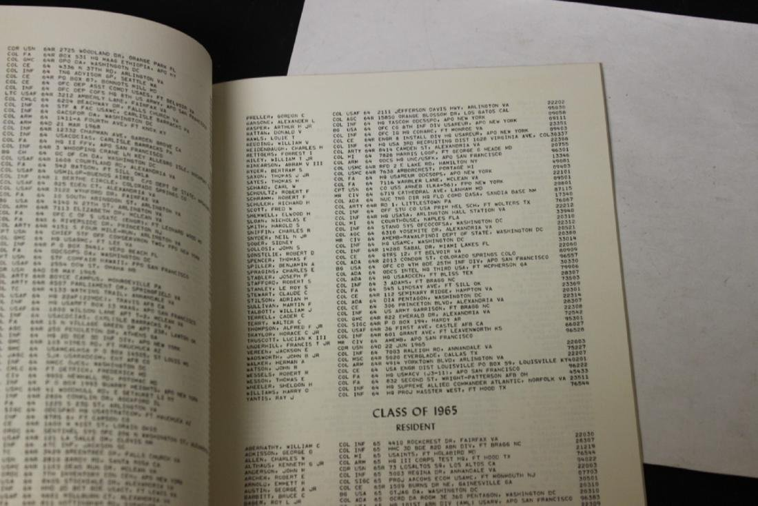 US Army War College Directory Pamphlet - 3