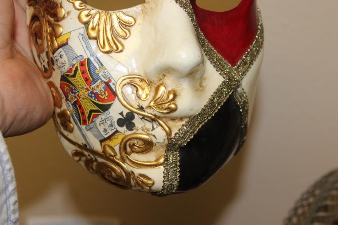 A Ca'Del Sol Italian Madri Gras? Mask - 4
