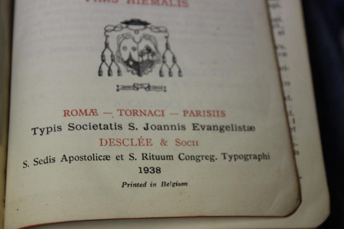 A Leather Bound Book - Brevarium Carmel - 7