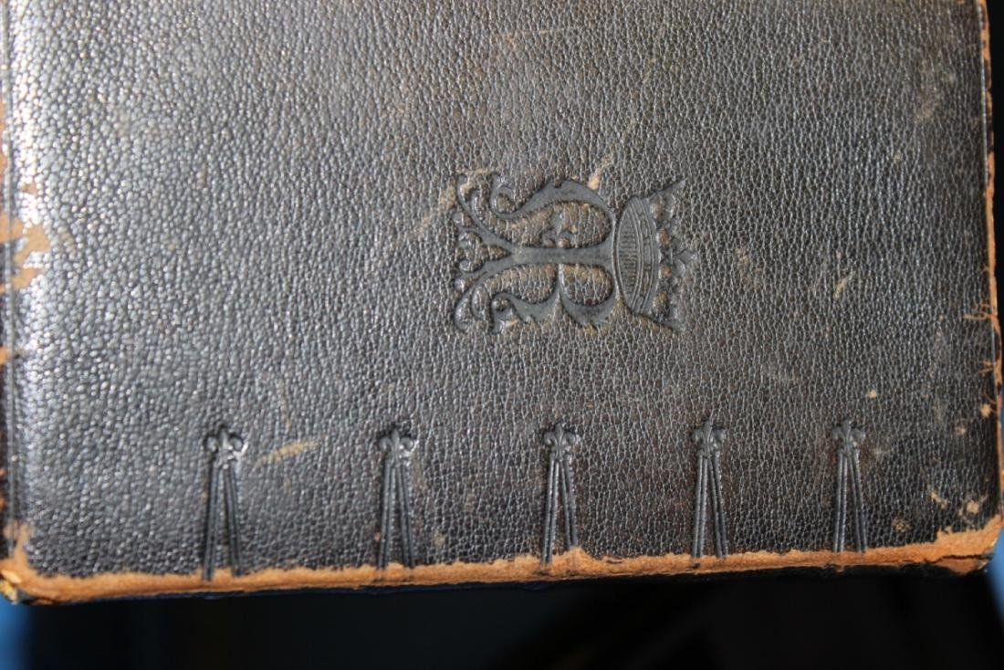 A Leather Bound Book - Brevarium Carmel - 8