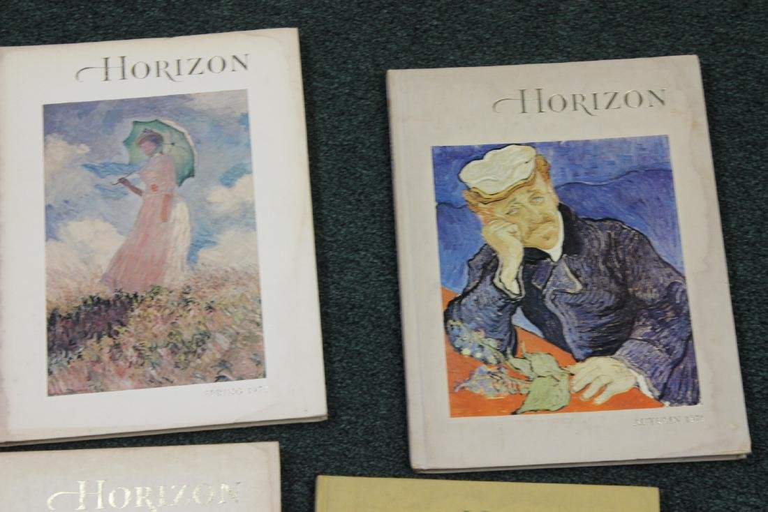 Lot of 4 Horizon Hardcover Books - 2