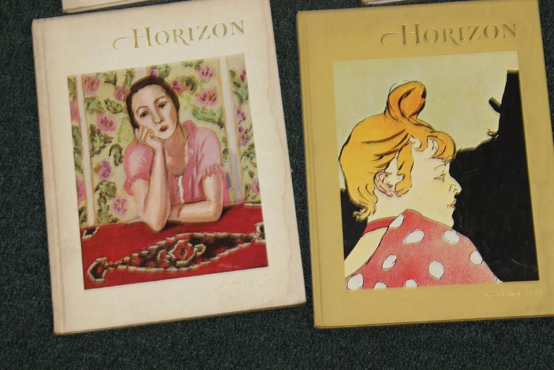 Lot of 4 Horizon Hardcover Books - 3