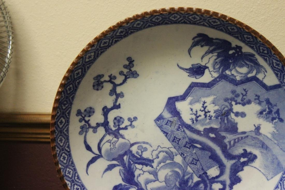 A 19th Century Japanese Blue and White Charger