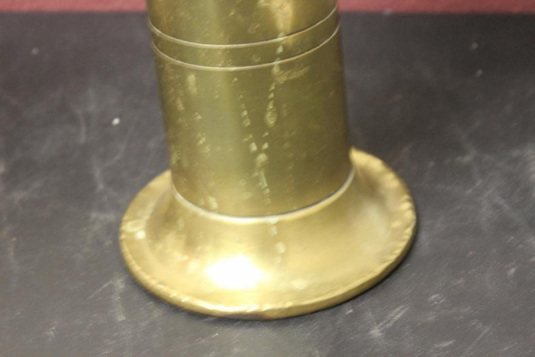 A Trench Art Two Handle Vase - 9