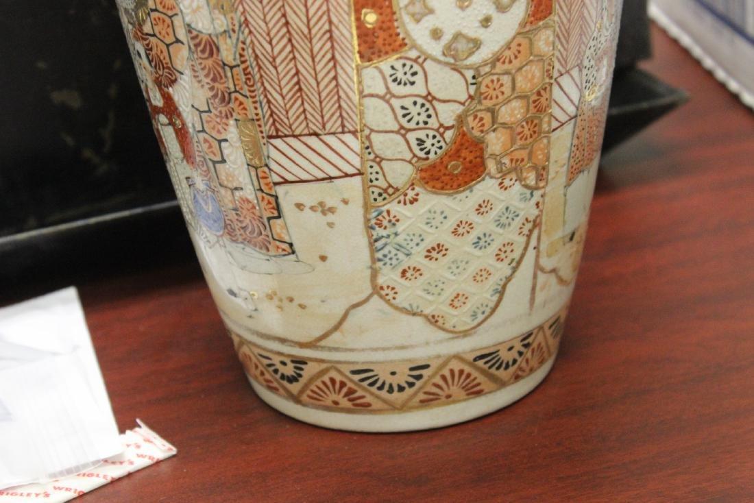 A Japanese Satsuma Vase - 8