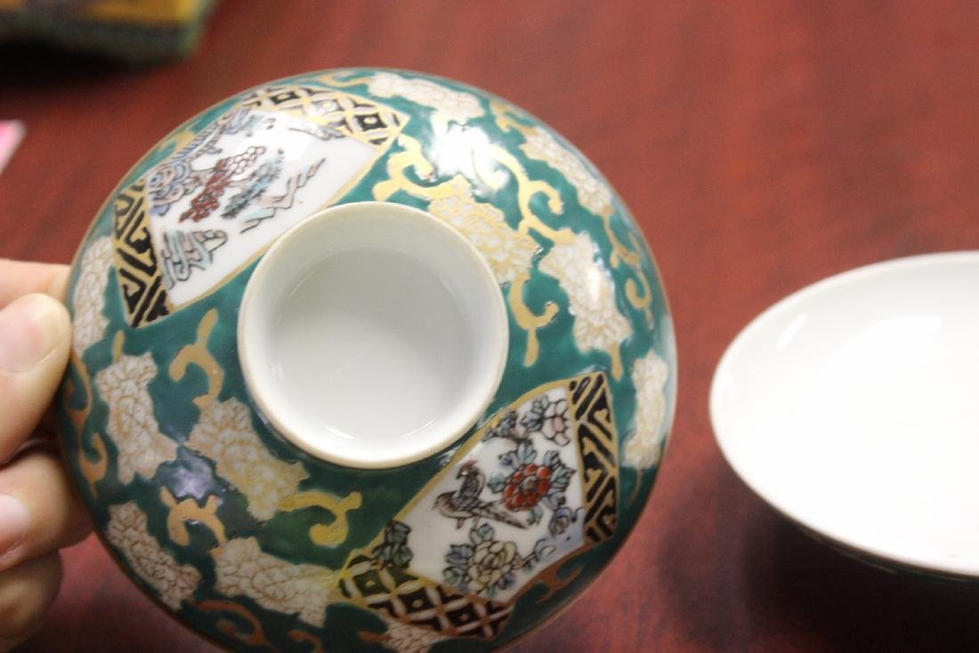 Lot of Two Japanese Sauce Dishes - 2