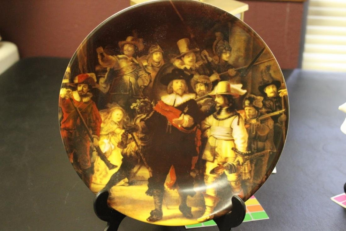 "Collector's Plate - "" The Nightwatch"""