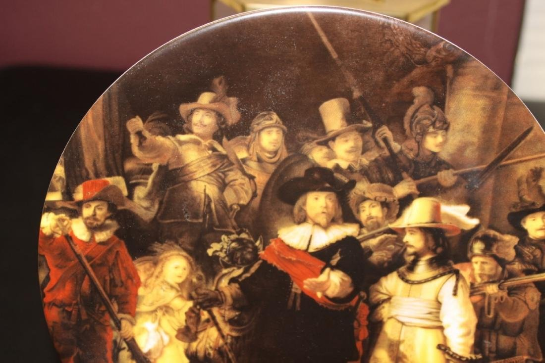 "Collector's Plate - "" The Nightwatch"" - 3"